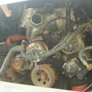 foto Iveco Daily 65 C15 engine dismantle